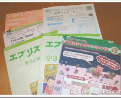 Z会小学生コース小3・12月号の教材
